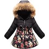 1554ea780 Beyond©Kids Girl Padded Coat Hooded Jacket winter Coat  Amazon.co.uk ...