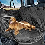 UEETEK Pet Backseat Cover Mat Oxford Cloth Dog Back Seat Covers Pad for Auto Cars 147 x 137cm