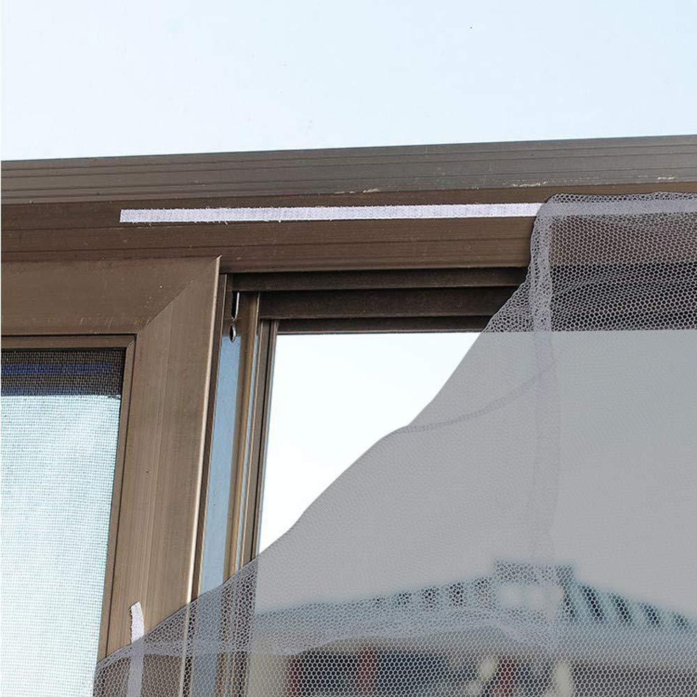 Noir LIMITA Maille de rideau d/écran insecte dint/érieur Moustiquaire moustiquaire fen/être