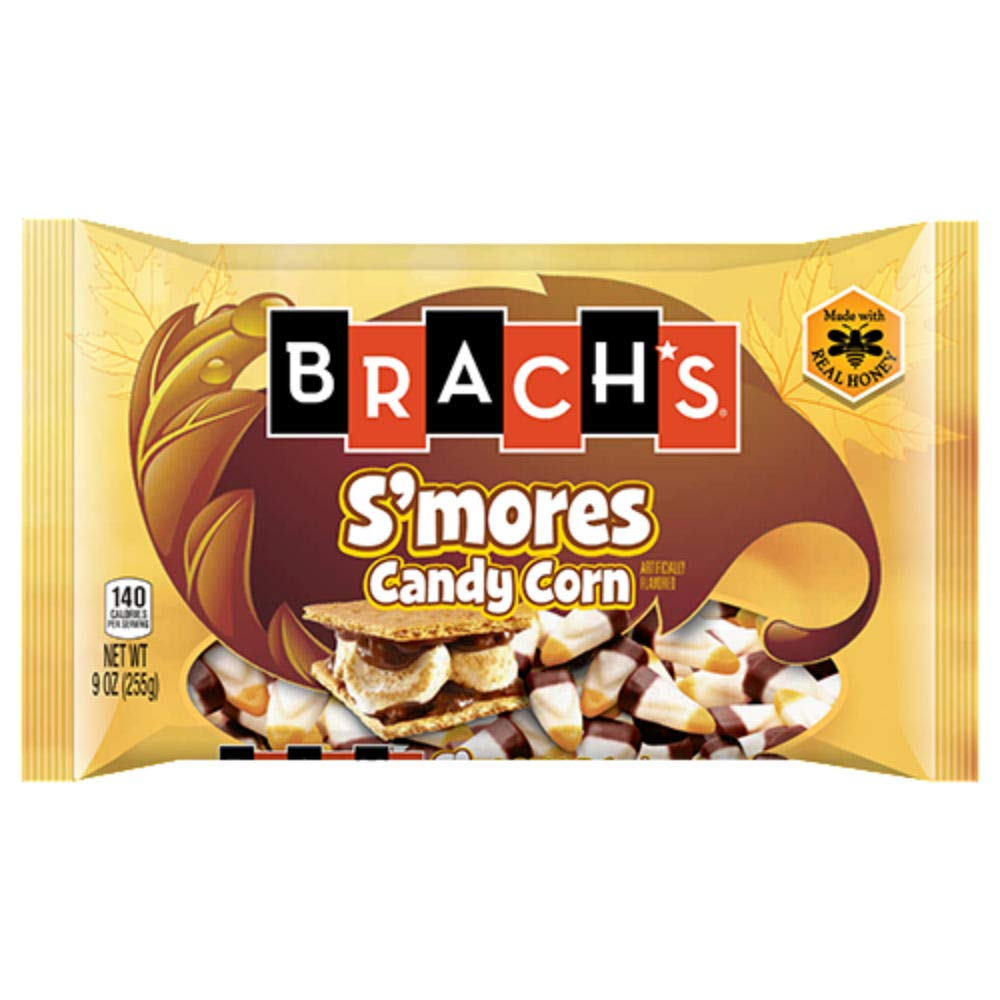 Brach's S'mores Candy Corn - 9-oz. Bag (3 Pack) by All City Candy