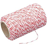 Avanti Butchers Twine with Cutter, Red/White (40635)