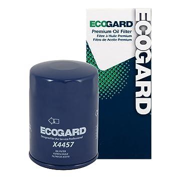 Amazon.com: ecogard x4457 Filtro de aceite: Automotive