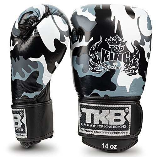 Guantes top king empower camuflaje