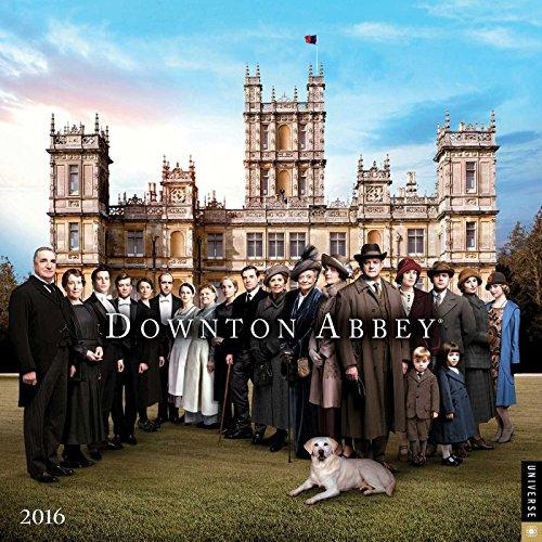 [Downton Abbey 2016 Mini Wall Calendar] (Magnificent Movie Costume)