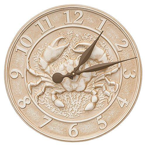 Whitehall Sealie Thermometer (Crab Sealie Clock, Limestone) by Whitehall