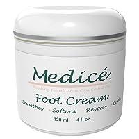 Medice Foot Cream 4 oz - Premier Foot Cream For Dry Cracked Feet - Callus Remover...