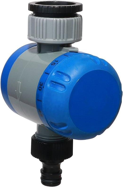 Aqualin Regulador mecánico del Agua del Temporizador del Grifo de la Manguera para el jardín, césped: Amazon.es: Jardín
