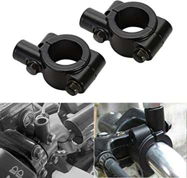 Colorful Motorcycle Mirror Mount Adapter 8-10mm 8-8mm 10-10mm Steel//Aluminium