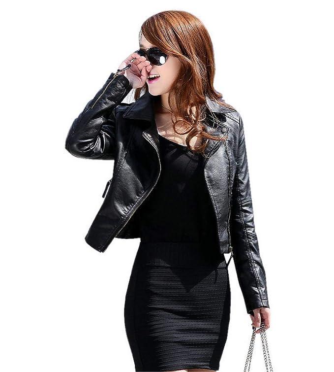 chaquetas cuero mujer baratas