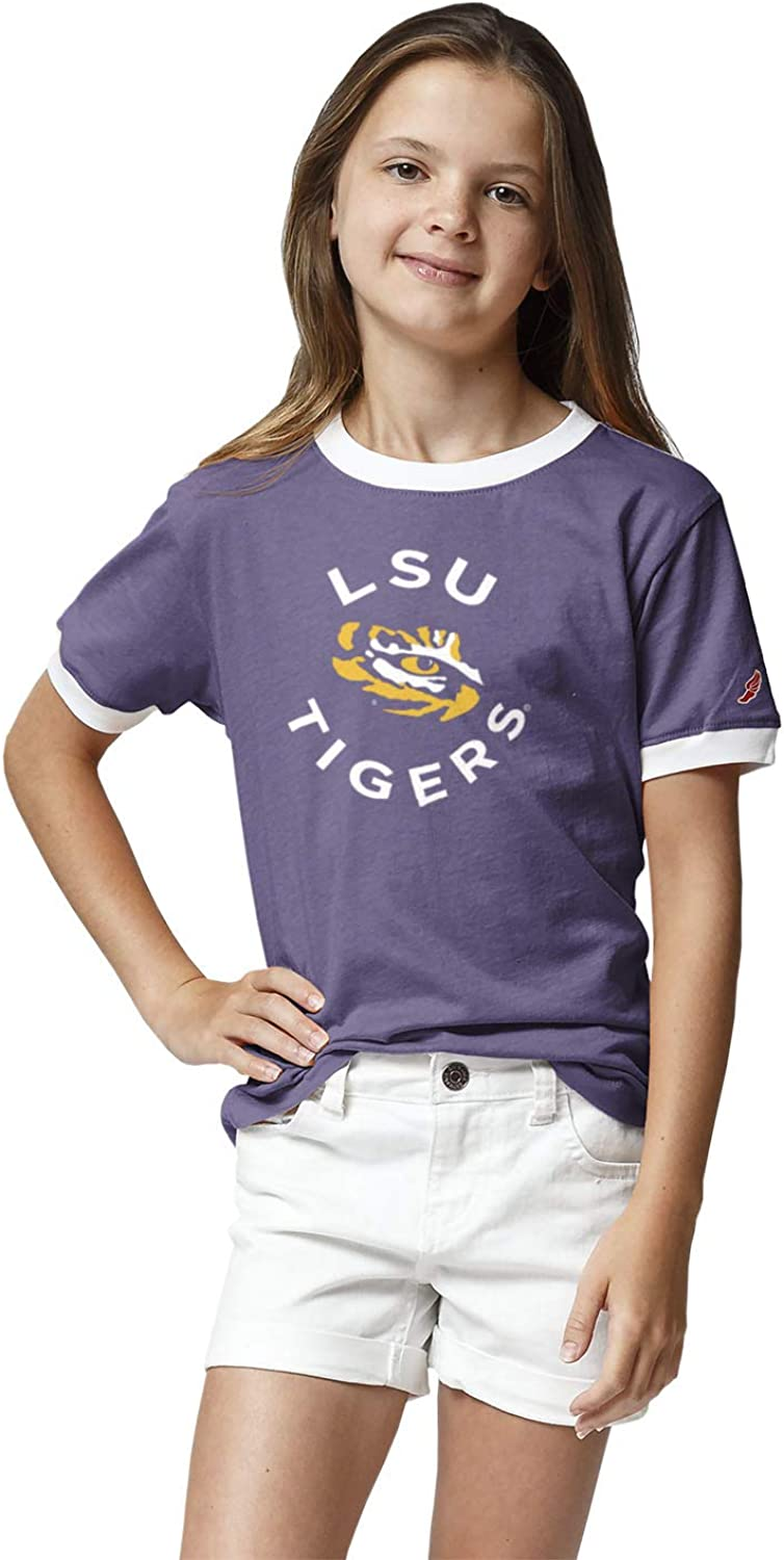 NCAA Youth League Girls Camp Ringer Tee