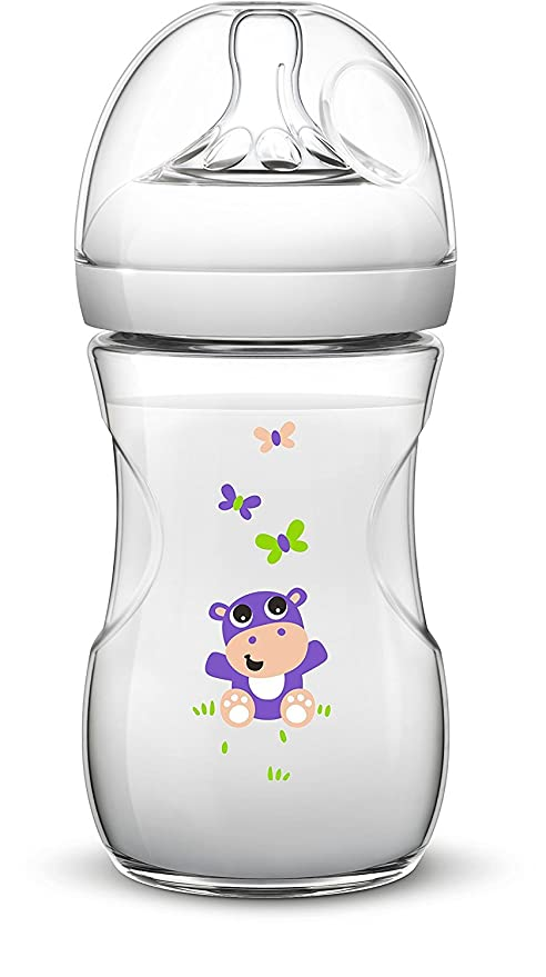 Philips AVENT Life-Like Starter Set Including 4/corresponding Cleaner/ /2/x 260ml Life-Like Anti-Colic Bottles//2x Naturnah 3/Months