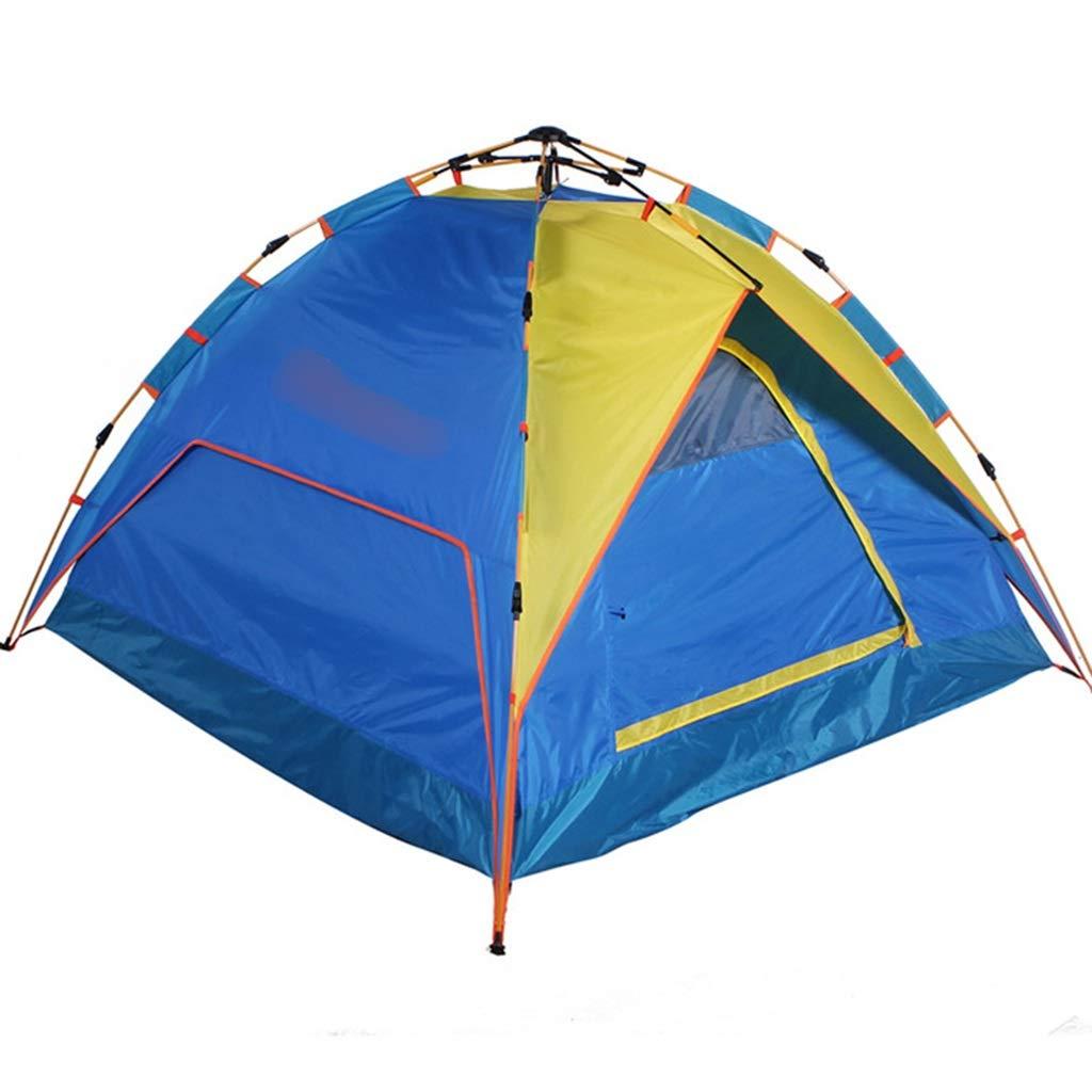 YaNanHome Zelt im Freien Zelt automatische hydraulische Geschwindigkeit öffnen Zelt 2-3 Personen Zelt (Farbe   Blau, Größe   205  205  115cm)
