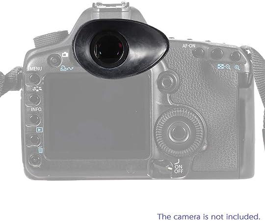 PKA - Parasol de Goma para cámara réflex Digital Nikon D7100 D7000 ...