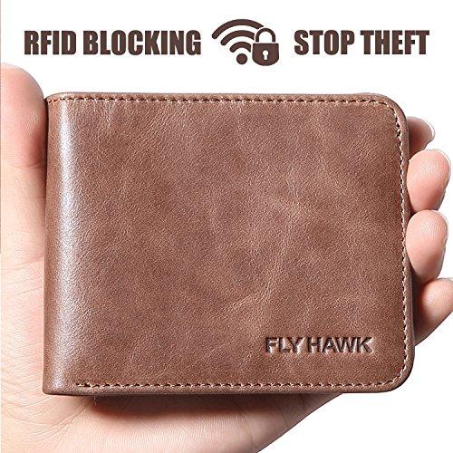 FlyHawk Blocking Genuine Leather Wallets product image