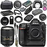 Nikon D5 DSLR Camera (Dual CF Slots) #1558 AF-S DX 18-300mm f/3.5-6.3G ED VR Lens 2216 + 67mm 3 Piece Filter Kit + Mini HDMI Cable + Carrying Case Bundle