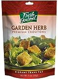 Fresh Gourmet Premium Croutons, Garden Herb, 5 Ounce