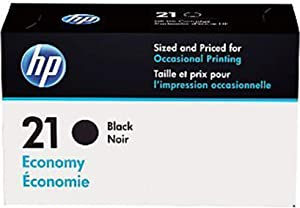HP 21 | Ink Cartridge | Black | Economy Size | B3B18AN | DISCONTINUED BY MANUFACTURER