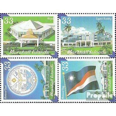 marshall-îles 1380-1383 bloc de quatre (complète.Edition.) 2000 gouvernement (Timbres pour les collectionneurs)
