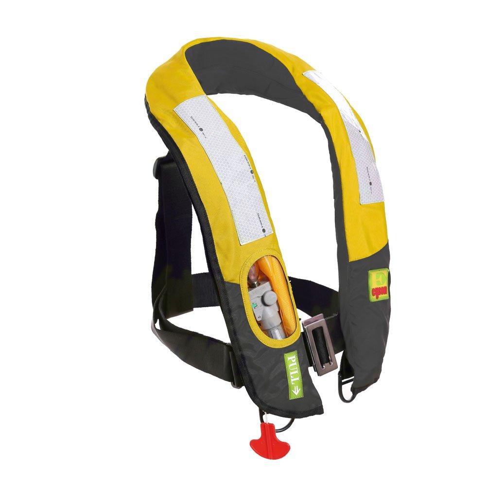 Eyson Slim Inflatable PFD Life Jacket Life Vest Adult Automatic/Manual (ES639717 Yellow)