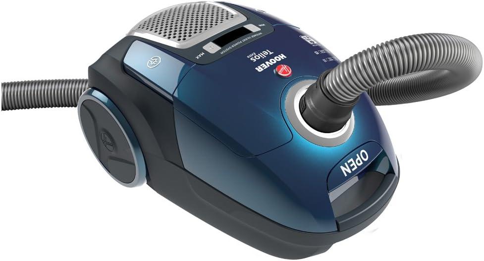 Hoover Telios Extra TX60PET - Aspiradora con bolsa, Cepillo pelo de mascota, parquet, suelos duros, alfombras, Accesorios integrados, Filtro epa, 450W, 62dB, 3,5L, Plástico, Azul: Hoover: Amazon.es: Hogar