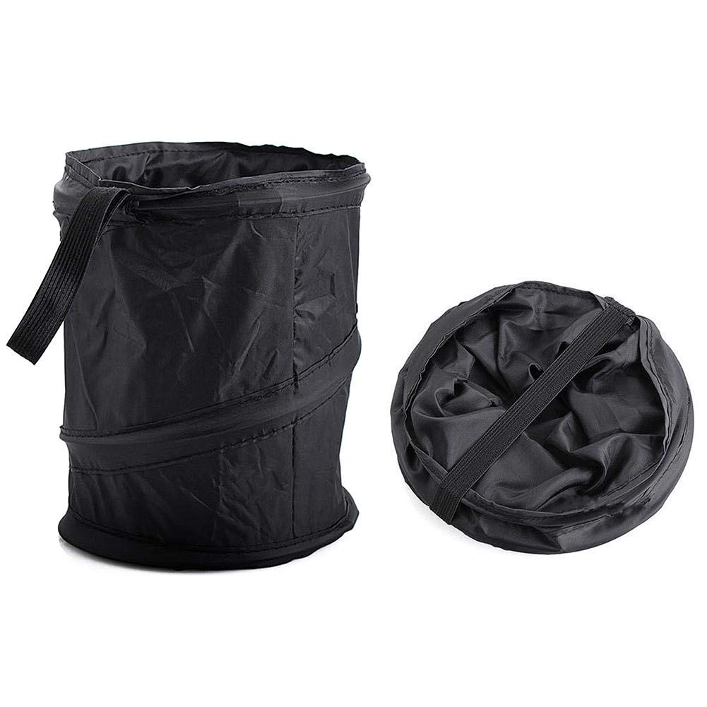 Hittime Waste Bins Car Garbage Can Collapsible Pop-up Trash Bag Organizer Universal Traveling Portable Basket