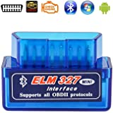 Elm327 Launchh OBD2 Professional Bluetooth Scan Tool and Code Reader for Android,ELM327 V2.1 Interface OBDII OBD2,Car…