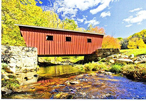 Covered Bridge - 500 Piece Jigsaw Puzzle