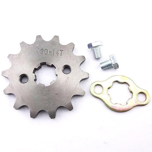 stoneder aluminio 420/37/dientes 52/mm trasero pi/ñ/ón para cadena para chino motocicleta ATV Quad 4/wheeler Motor de pit dirt bike