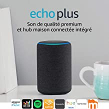 Amazon Echo Plus  : également essentiellement centrée sur la domotique