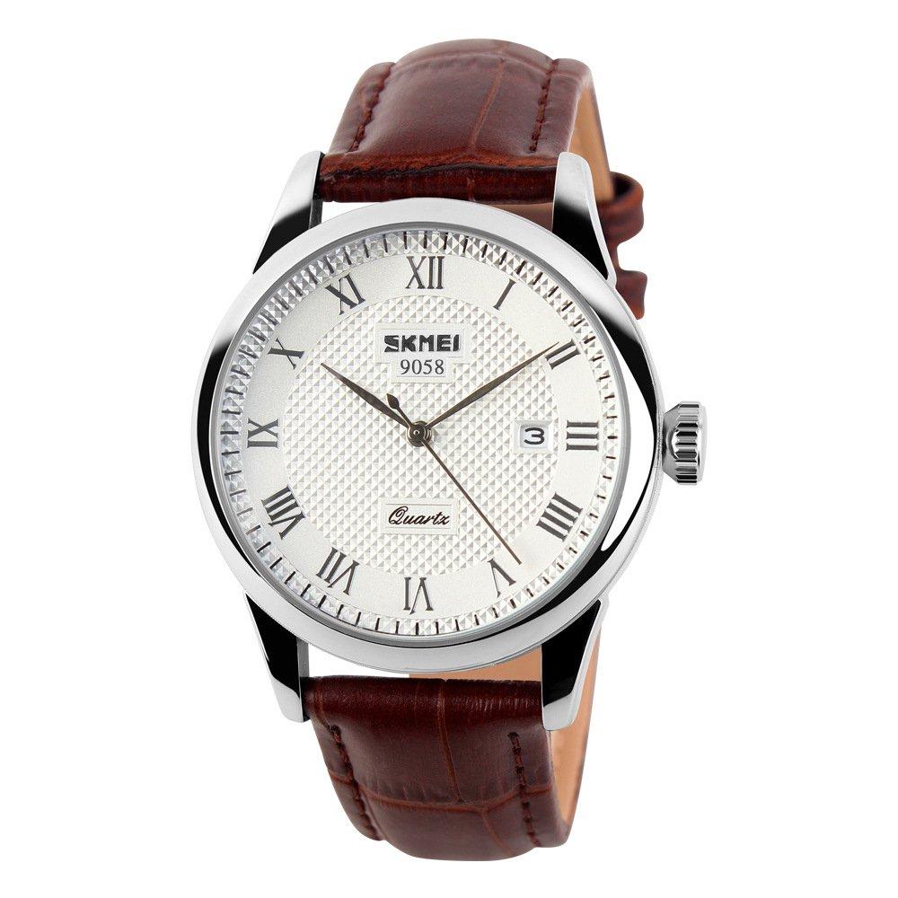 Laniakea Unisex Leather Quartz Analog Wrist Watch With Business Casual Watch .. 16