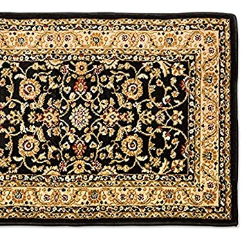 this item 25u0027 stair runner rugs marash luxury collection stair carpet runners black