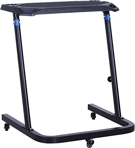 Vinsetto Height Adjustable Mobile Computer Desk