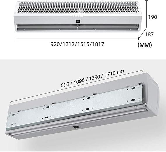 LING AI DA MAI Acondicionadores de aire para habitaciones: silencio + bajo nivel de ruido + alta potencia, aire acondicionado pequeño y compacto con instalación de ventana, cortina de aire interior: Amazon.es: