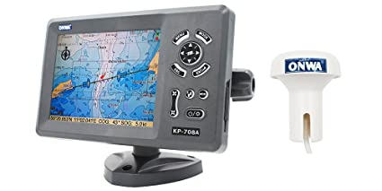 amazon com onwa kp 708a 7 inch gps chart plotter with built in rh amazon com