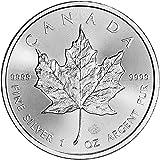 #7: 2017 CA Canada Silver Maple Leaf (1 oz) $5 Brilliant Uncirculated Royal Canadian Mint