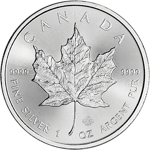 2017 CA Canada Silver Maple Leaf (1 oz) $5 Brilliant Uncirculated Royal (Silver Maple Leaf Bullion)