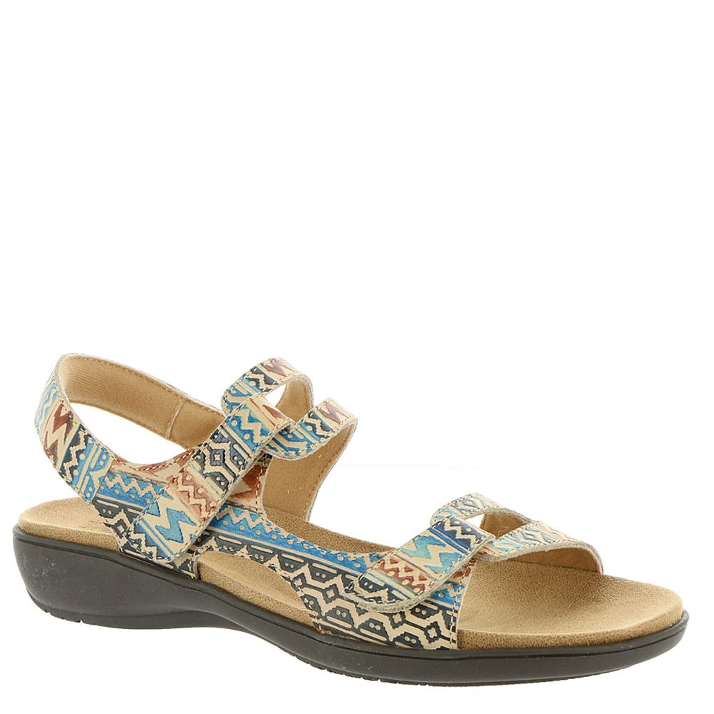 Trotters Womens Katarina Open Toe Casual Ankle Strap Sandals B078ZK2MGV 7.5 B(M) US|Aztec-multi