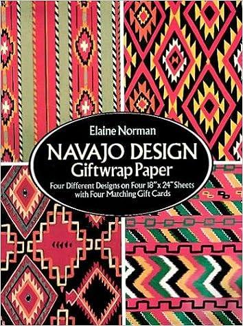 navajo design giftwrap paper giftwrap4 sheets 4 designs elaine norman 9780486270302 amazoncom books navajo designs e92 navajo