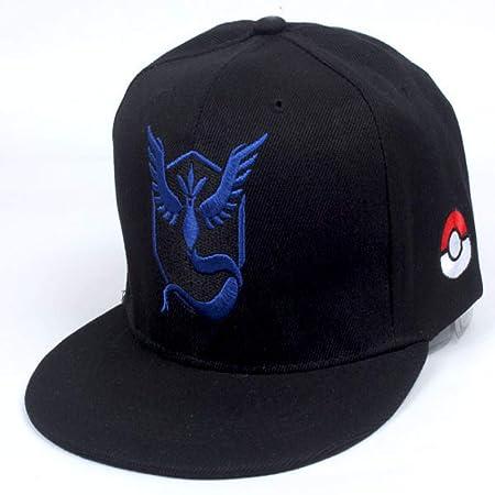 zhuzhuwen Hip Hop Sombrero de béisbol Pokemon Anime Hat 3 ...