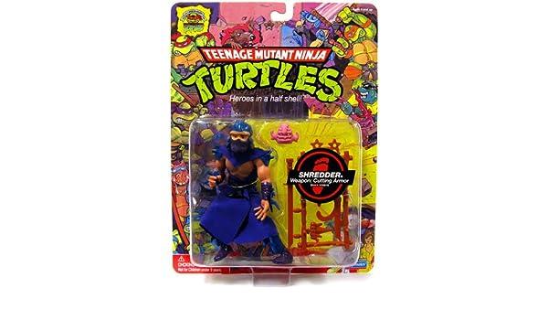 Teenage Mutant Ninja Turtles Shredder Toy : Playmates teenage mutant ninja turtles 25th anniversary action