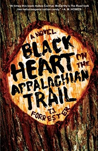 book cover of Black Heart on the Appalachian Trail
