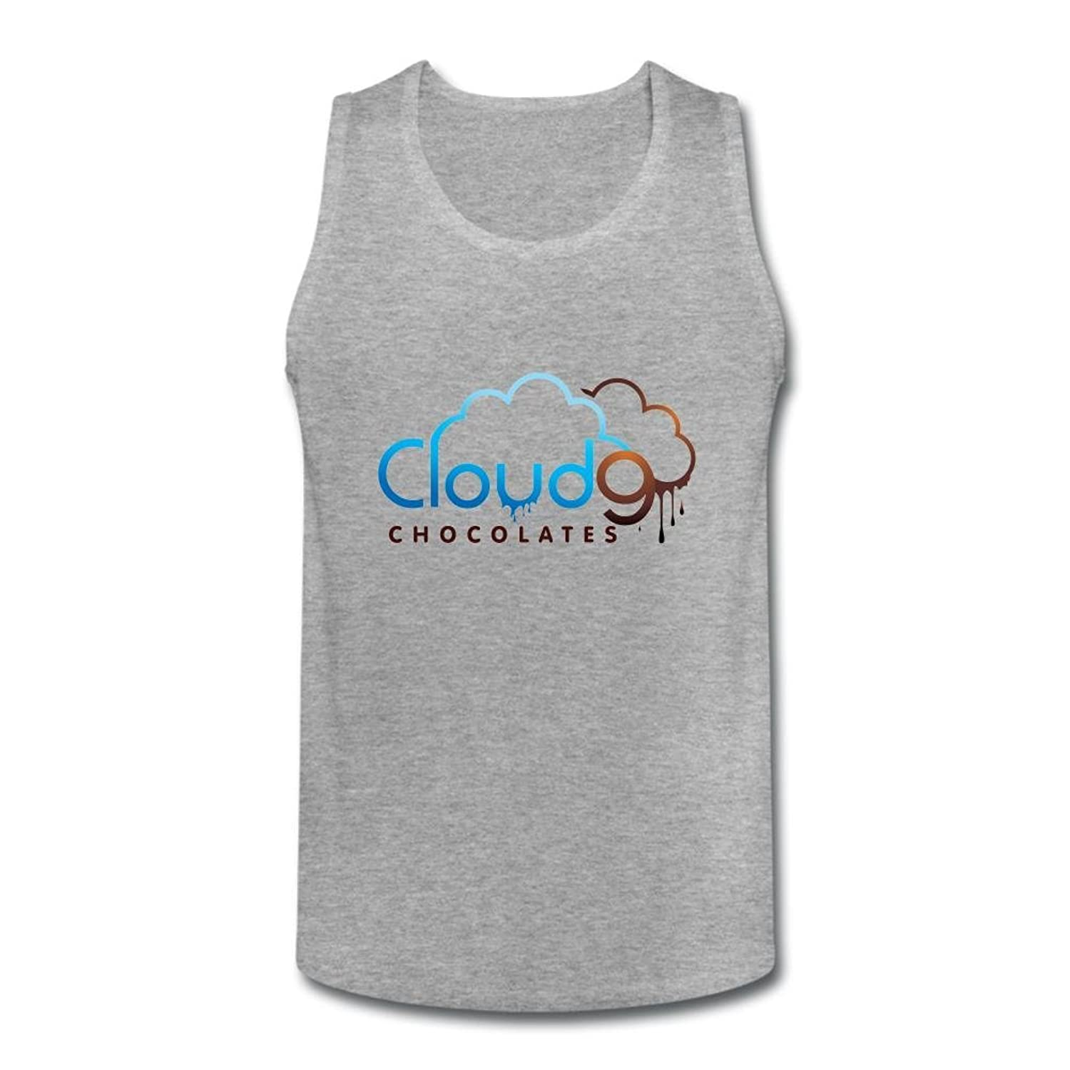 OULIN Men's Cloud 9 Vest White XXXL
