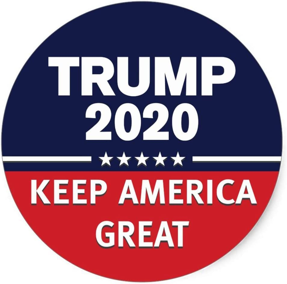 Buttons Trosetry Trump 2020 Buttons 2.28inch Presidential Campaign Pins Keep America Great
