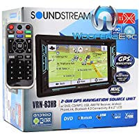 "Soundstream VRN-63HB 6.2"" Touchscreen 2-DIN DVD, CD/MP3, AM/FM Receiver w/ GPS Navigation & Android PhoneLink"