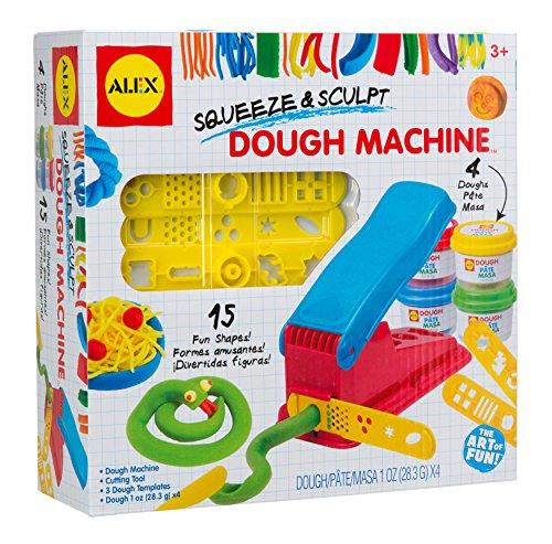 ALEX Toys Artist Studio Squeeze and Sculpt Dough Machine (Alex Sewing Machine For Kids)
