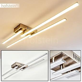 LED Deckenleuchte Casale 4 Flammig Mit Länglichen Lichtleisten U2013  Extravagante Zimmerlampe Für Wohnzimmer U2013 Schlafzimmer