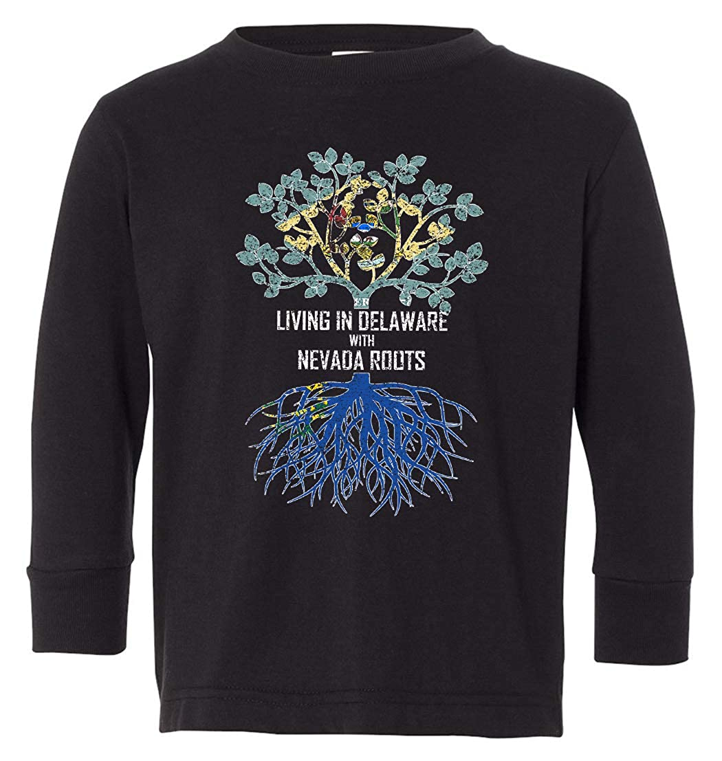 Tenacitee Babys Living in Delaware Nevada Roots Shirt