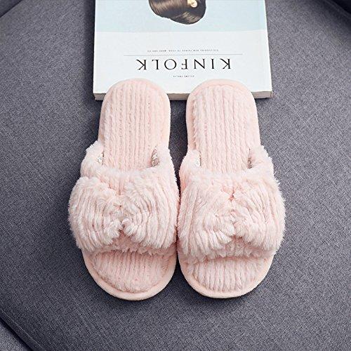 piscina morbido pavimento pantofole home autunno femmina inverno di Braun cotone pantofole paio Männlich fondo di pantofole home Fankou pavimento e pantofole mute tPSqnp