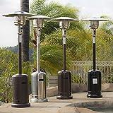Belleze 48,000BTU Premium Patio Standing Heater, Propane Gas, Auto Tilt Shutoff