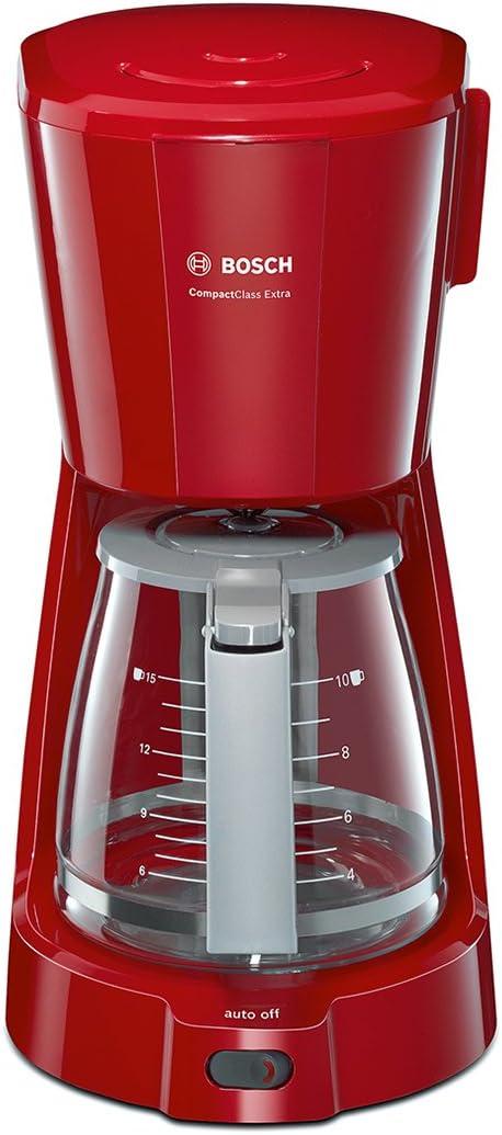Bosch TKA3A034 CompactClass Extra Cafetera de goteo, capacidad ...
